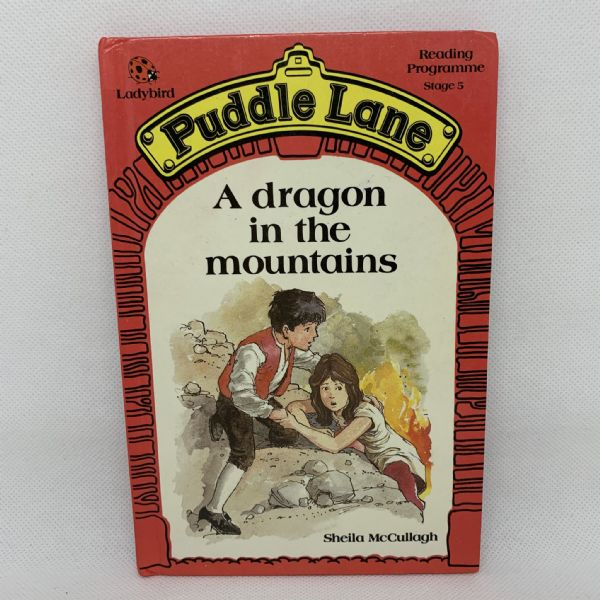 Ladybird Book PUDDLE LANE Dragon in the Mountains - 1st Edition - Stage 5 - No.2